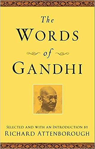 Did ghandi write books?