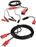 Power Probe PP319 Red Case & Accessories (20' extension cable, cigarette lighter adapter, hard carry case)