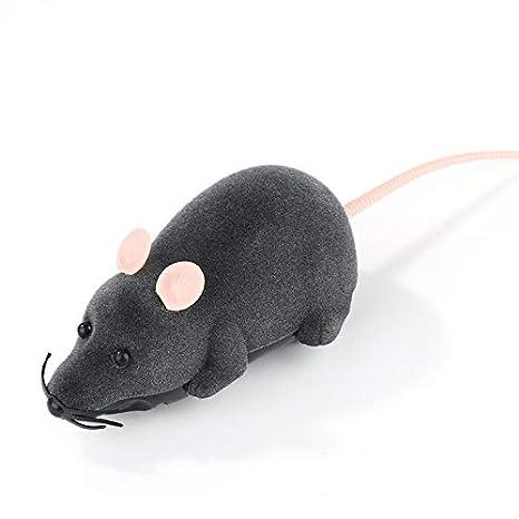 Juguete teledirigido eléctrico del Gato de la Rata,Juguete inalámbrico del ratón controlado para el niño al Mejor Regalo del Gato Divertido: Amazon.es: ...