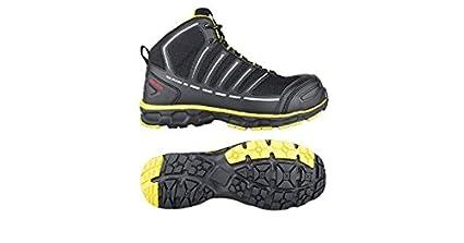 Toe Guard tg8052047 Jumper – Zapatos de seguridad S3 ESD SRC Tamaño 47 negro/limón