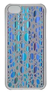 Form-Fitting Design with Illustration Painting Stripes & Dots 2 Hard Plastic Back Case for iphone 5C -519030 WANGJING JINDA