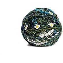 Knit Collage, Daisy Chain, Grasshopper, 60 yds 3.5 st per inch