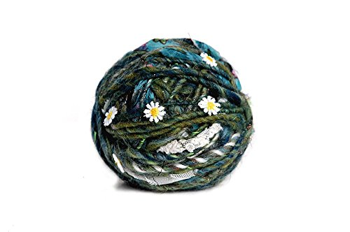 Knit Collage, Daisy Chain, Grasshopper, 60 yds 3.5 st per inch by Knit Collage