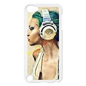 cocacolagirlvector13140579 iPod Touch 5 Case White yyfD-356368