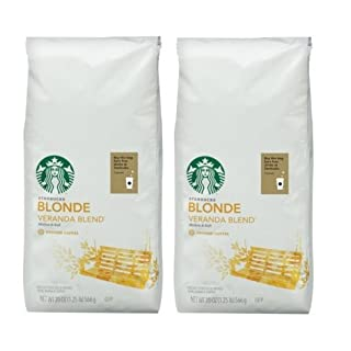 Starbucks Blonde Veranda Blend 20 Oz Bag(pack of 2)