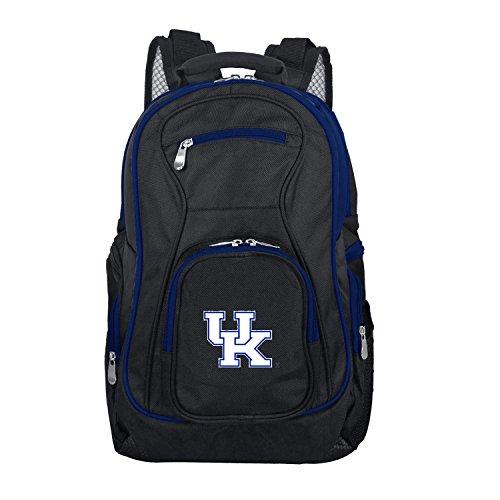 Denco NCAA Kentucky Wildcats Colored Trim Premium Laptop Backpack (Kentucky Ncaa Bag Wildcats Laptop)