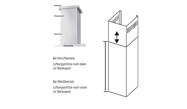 Oranier 9208 91 - Campana extractora (100 cm, extensión para campanas aisladas): Amazon.es: Grandes electrodomésticos