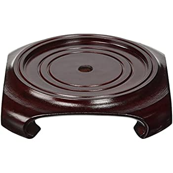 Amazon Oriental Furniture Rosewood Vase Stand Size 4 In