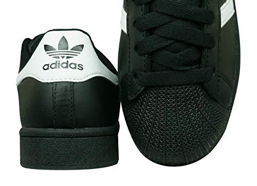 Zapatillas blanco negro Infantil Unisex Superstar Negro Adidas Foundation EqwTRT