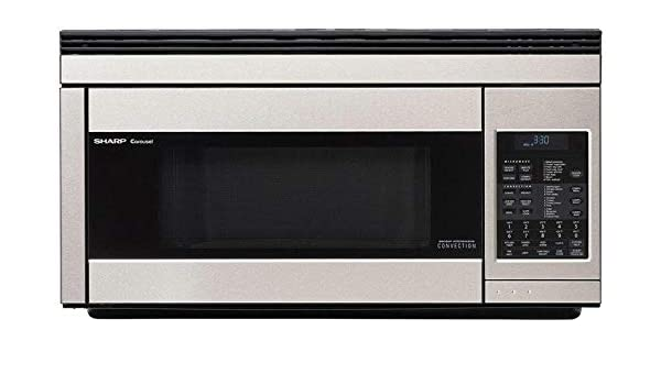 Sharp R1874TY 30 Inch Over the Range Microwave Oven with 1.1 cu. ft. Capacity, in Stainless Steel