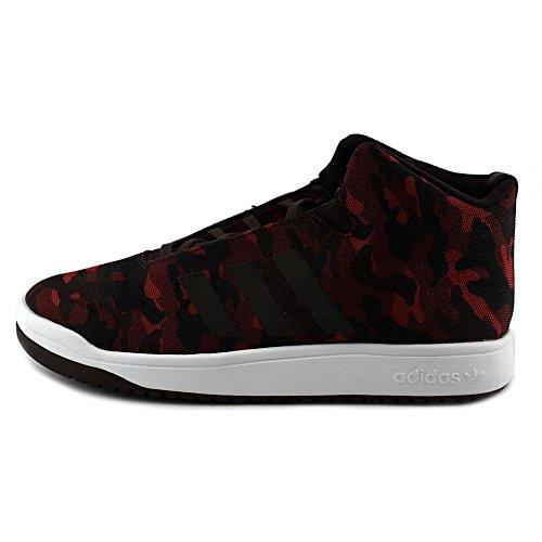 Casual Largeur 8 Adidas Couleur Veritas Noir Mid 5 Taille Sneakers Bordeaux Normale Bordeaux US BBE8Yq