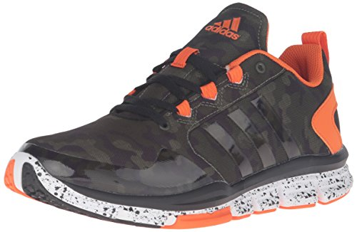 adidas Performance Men's Shoes | Speed 2 Camo Cross-Trainer, Base Green/Base Green/Orange, (12 M US) (Adidas Cross Trainer)