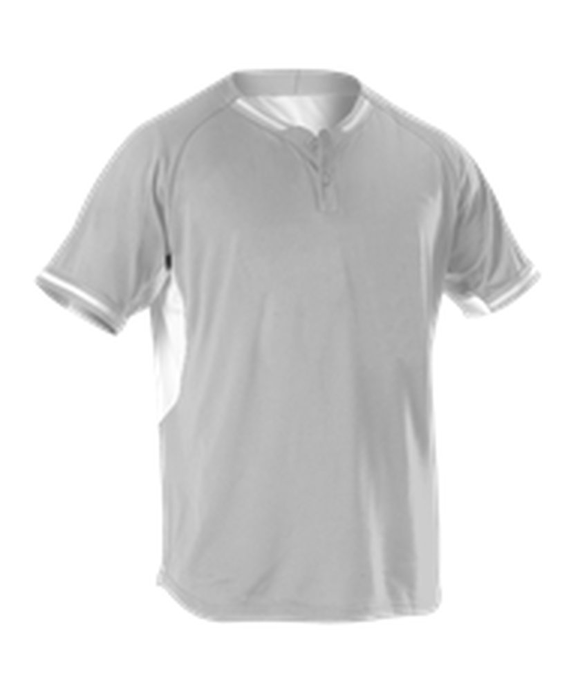 Alleson Athletic SHIRT ボーイズ B073Z5FFYX M|Grey, White Grey, White M
