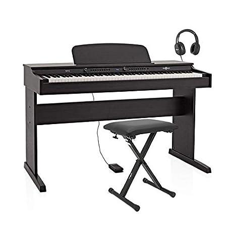 gear4music pianoforte digitale  DP-6 Pianoforte Digitale di Gear4music + Pacchetto Accessori: Amazon ...