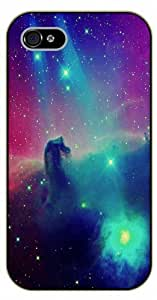 iPhone 4 / 4s Nebula - black plastic case / Space, star, stars