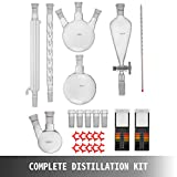 VEVOR New Laboratory Glassware 24/40,Chemistry
