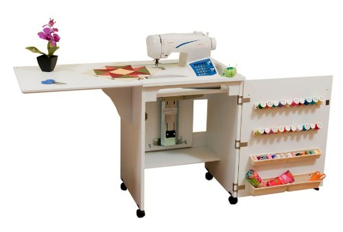 Arrow 98501 Compact Sewing Cabinet - white finish -  Arrow Cabinets, ARR-98501