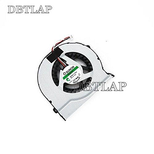 DBTLAP Laptop CPU Fan Compatible for Samsung 300V4A 300E5C 300E4C 300E4X NP300V4A NP300 NP300E4C NP300E5C KSB0705HA BC53 BA31-00108A 3 PIN Notebook CPU Cooler Fan