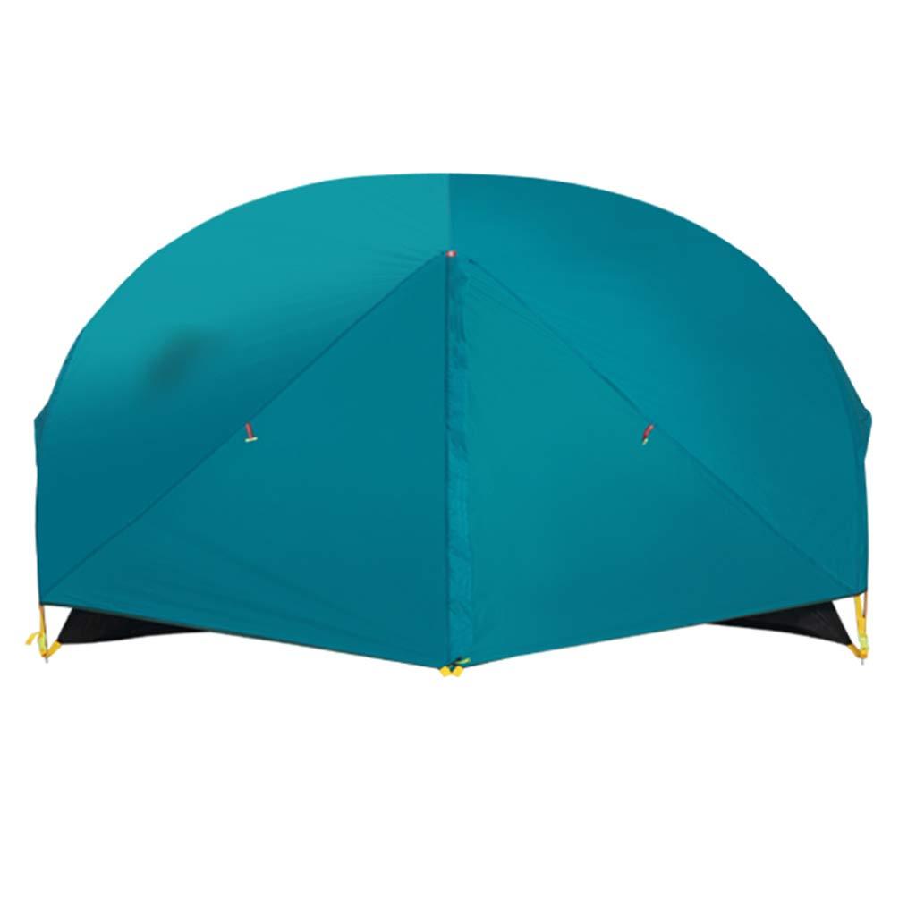 YaNanHome Festzelt Zelt des Zeltes des Zeltes im Freien 1-2 Zeltzeltpaarzelt, Das Zeltzelt klettert (Farbe : Blau, Größe : 205  140  110cm)