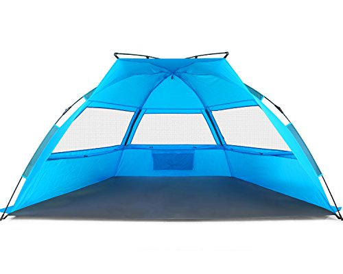 Tagvo-Pop-Up-Beach-Tent-Sun-Shelter-Easy-  sc 1 st  Discount Tents For Sale & Tagvo Pop Up Beach Tent Sun Shelter Easy Set Up Tear Down ...