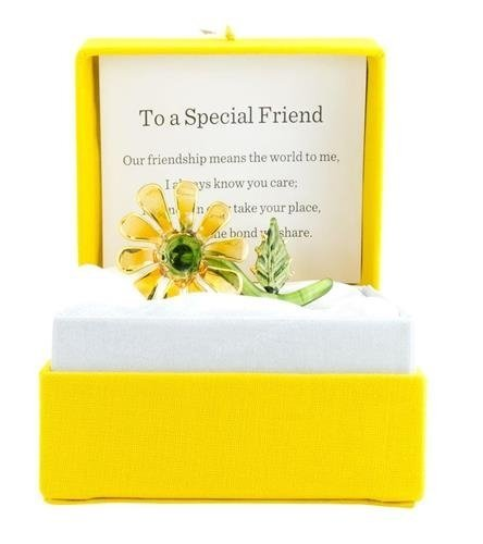 About Face Designs Special Friend Daisy Collectible Gift Figurine Colorburst Style