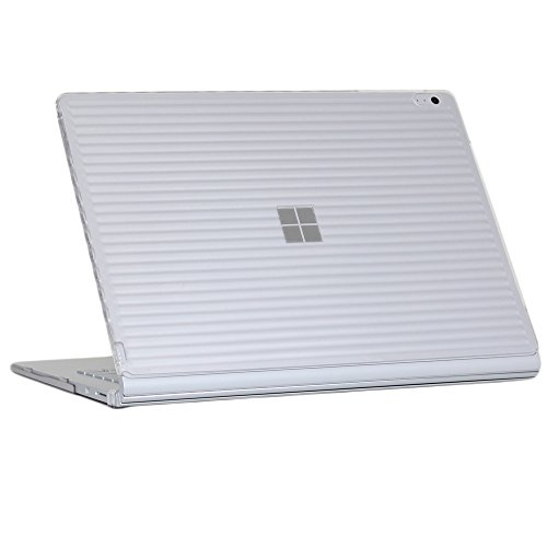 iPearl mCover Hard Shell Case for 15-inch Microsoft Surface Book 2 Computer (MS-SBK2-15 Clear)