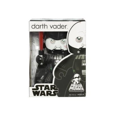 Star Wars Mighty Muggs Vinyl Figures Wave 6 Darth Vader (Version - Mighty Vinyl Muggs