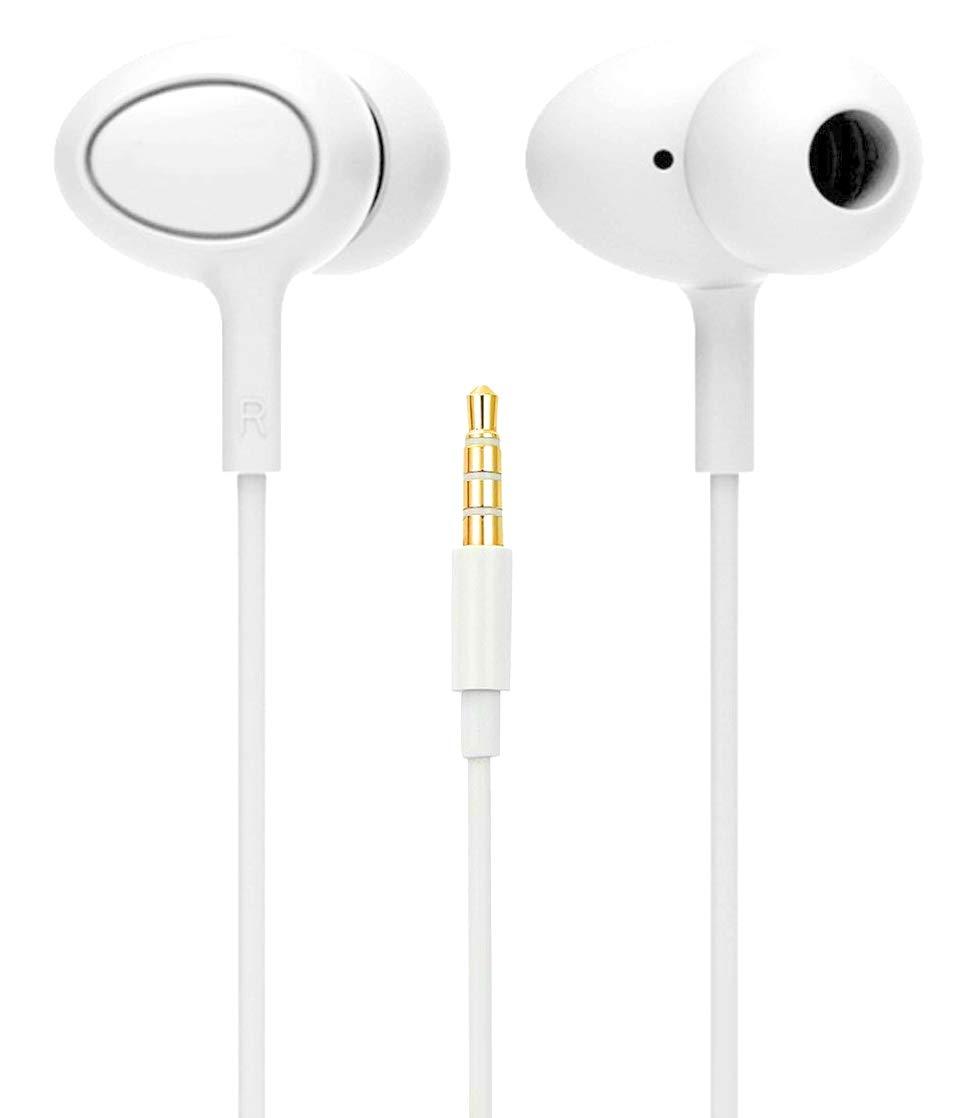 b642dd6739a Stealkart 3.5mm Jack in- Ear Headphone with Mic Bass: Amazon.in: Electronics