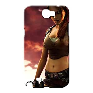 samsung note 2 cases Compatible Scratch-proof Protection Cases Covers phone cover case tomb raider