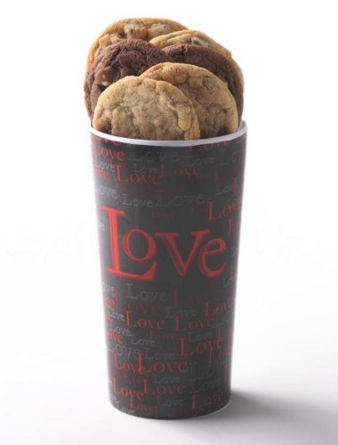 Boundless Love 12 Count Gourmet Cookie Vase by Cornerstone Cookie Gifts