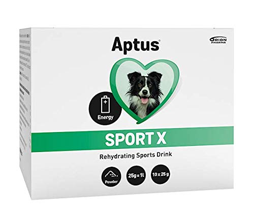Aptus Sport X Electrolytes for All Dogs   For Dog Hydration After Exercise, Sickness, Travelling, or in Stressful Situations