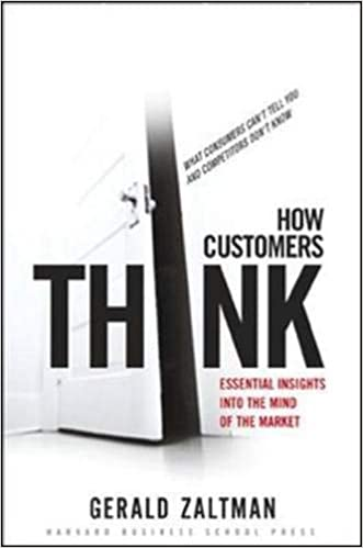 Book Title - How Customers Think