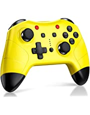 Switch Pro Controller for Nintendo Switch, BEBONCOOL Wireless Controller Compatible with Nintendo Switch Remote Pro Controller Gamepad Yellow