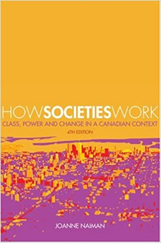 Class Power and Change in a Canadian Context How Societies Work