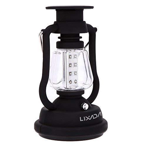 Lixada Camping lamp 16 LED hanglamp voor outdoor (inklapbaar) (1 stuk)