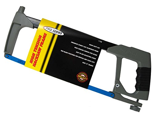 Professional Heavy Duty Hacksaw - KR Tools Pro Series High Tension Hacksaw Frame