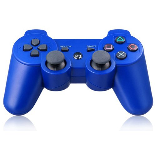 HBetterTech(TM) New Wireless Bluetooth Six Axis Dualshock Game Controller for Sony PS3(Blue)