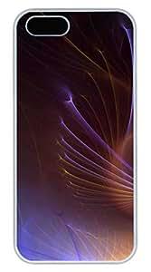 Aero Colorful Multi Colors 42 Cover Case Skin for iPhone 5 5S Hard PC White