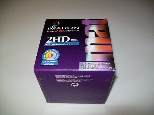 Portable, Imation 2hd Ibm Formatted Go Anywhere Diskettes - Box of 25 Consumer Electronic Gadget Shop by Portable4All