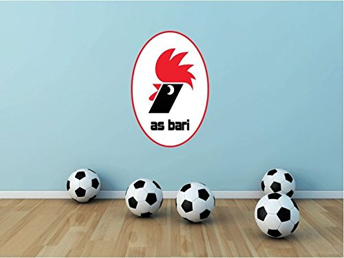 A.S Bari FC Italy Soccer Football Sport Art Wall Decor Sticker 25'' X 16'' by postteam