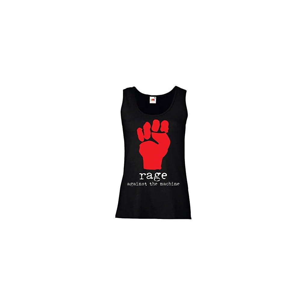 """Camiseta de tirantes mujer """"Rage Against The Machine"""""""