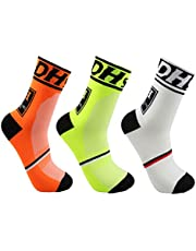 Men's Cycling Socks Unisex Breathable Sports Running Trekking Socks