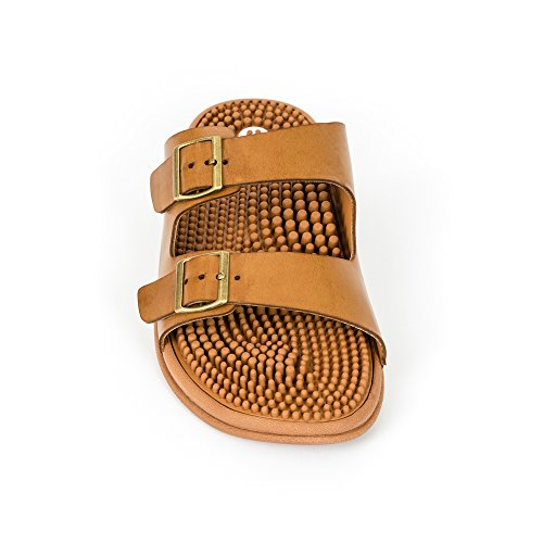 for Sandals amp; Seva Absorbing Sandals Reflexology Support Women Men Cushion Comfort Revs Shock Arch amp; Tan qwItYFw