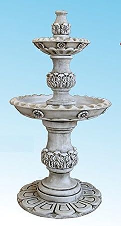 DEGARDEN AnaParra Fuente Central Verona hormigón-Piedra Exterior jardín 92X175cm.: Amazon.es: Jardín