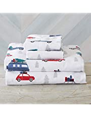Extra Soft 100% Turkish Cotton Flannel Sheet Set. Warm, Cozy, Luxury Winter Bed Sheets. Stratton Collection