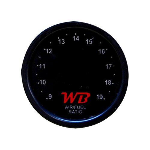 52mm WB D2 Digital Wideband O2 Air Fuel Ratio Controller All-in-One 2 1//16 Gauge RED