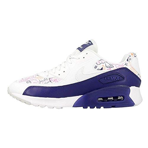 viola White Print W Bianco white Max Nike Purple dk Scarpe Donna Air Dust Sportive Ultra 90 cFWZWT4q