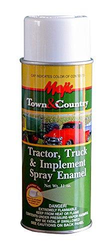 Implement Spray Enamel - Majic Paints 8-20990-8 Tractor & Implement Spray Enamel Paint, Aerosol, Gloss White