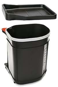 Franke Sorter Mini - Cubo de basura (300 mm, 300 mm, 350 mm) Negro