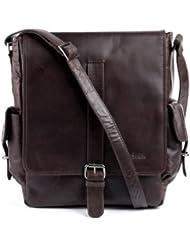 FEYNSINN messenger bag - man shoulder bag ASHTON fits iPad | cross-body bag men´s bag leather | PREMIUM-QUALITY